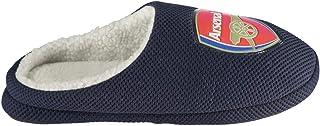 Bafiz Arsenal FC Mule Football Slippers Juniors Boys Blue Soccer Teamwear Footwear