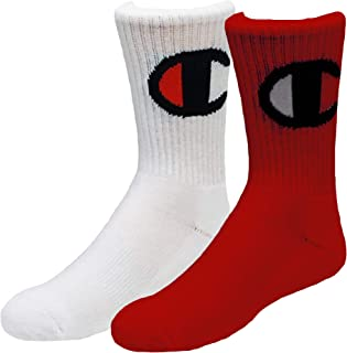 Little & Big Boys 2-Pk. Logo Crew Socks