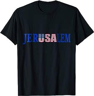 Jerusalem T-Shirt Israel USA Clothing