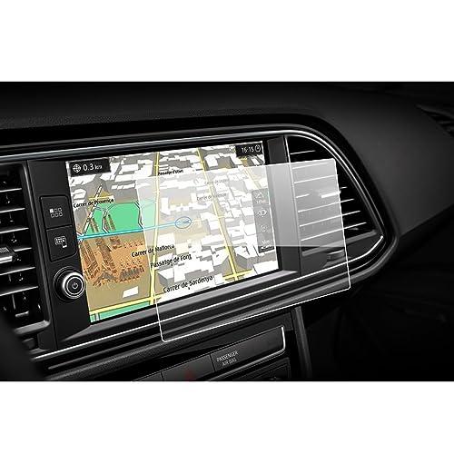 lfotpp - Protector de pantalla para Seat Leon ST SC 5 F 2015 - 2017 Sistema