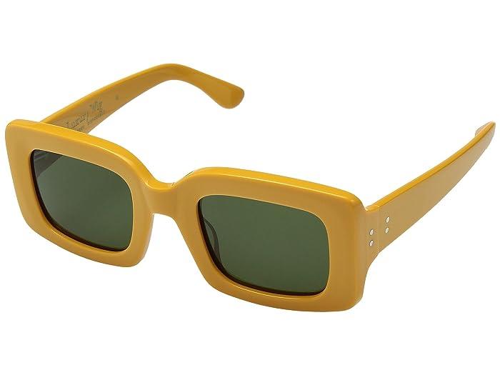 1960s Sunglasses   70s Sunglasses, 70s Glasses RAEN Optics Flatscreen 49 DisposableBottle Green Athletic Performance Sport Sunglasses $150.00 AT vintagedancer.com