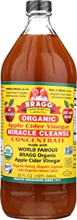 Bragg Organic Apple Cider Vinegar, Miracle Cleanse Concentrate, 32 Ounce