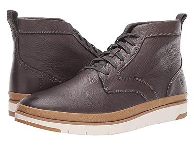 Hush Puppies Caleb PT Boot (Dark Grey Leather) Men