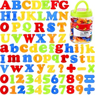 Mumoo Bear MeterMall 78pcs/set Magnetic Letters Numbers for Kids Educational Alphabet Refrigerator Magnets