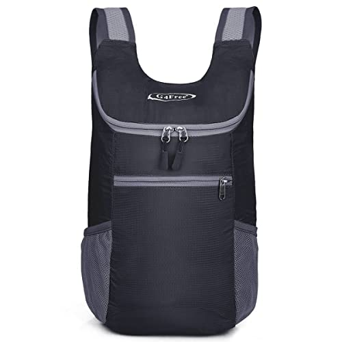 G4Free Unisex Ultra Lightweight Small Foldable Backpack Packable Rucksack  for Travelling