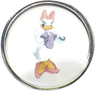 Disney Daisy Duck 18MM - 20MM Fashion Snap Charm