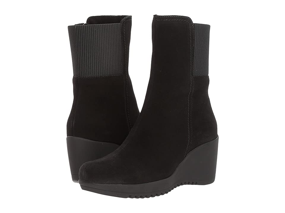 La Canadienne Gwyn (Black Suede) Women