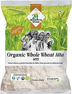 24 Mantra Organic – Whole Wheat Atta Premium, 1Kg