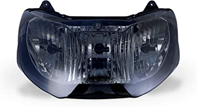 9sparts OEM Replacement Smoked Headlight Headlamp Housing Assembly Unit for 2000 2001 Honda CBR929RR CBR 929RR
