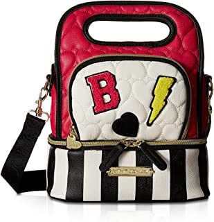Betsey Johnson Womens Top-Handle Lunch Tote