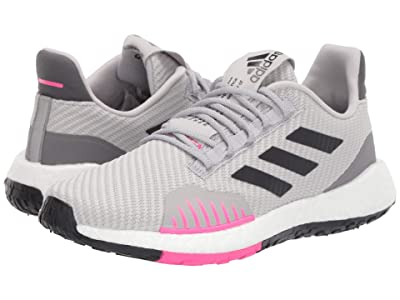 adidas Running PulseBOOST HD Winter (Grey Two F17/Core Black/Shock Pink) Women
