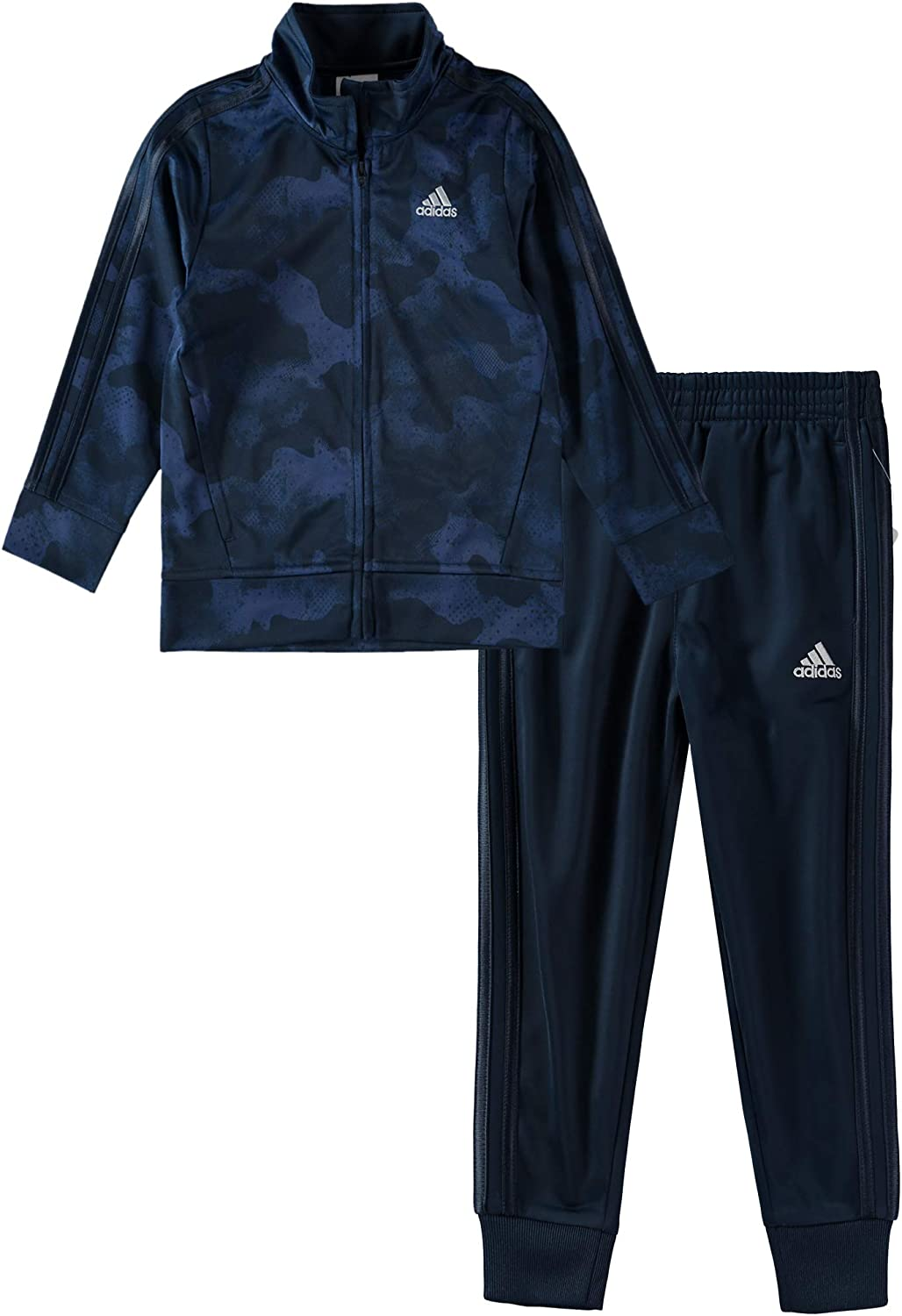 Adidas boys Tricot Jacket and Pant Set Overalls