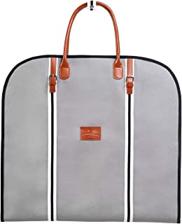 Garment Bag I Premium Suit Carrier I Travel Suit Bag I Garment Carrier I Dress Bag I Suit Cover Bag I Suit Cover I Dress Carrier (Grey)