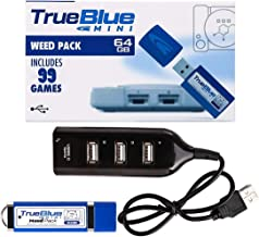 True Blue Mini Weed Pack 99 Games for Playstation Classic, 64 GB (Weed Pack)