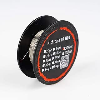 Nichrome Wire Resistance Wire 34 Gauge 30FT Nichrome 80