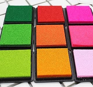 20colores–sello cojines encreurs para papel Craft tejido Fingerprint Scrapbook pintura