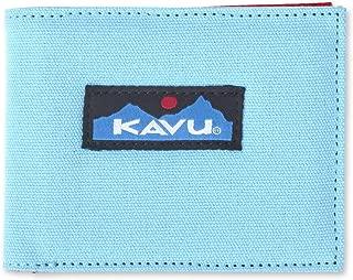 KAVU Yukon Bi Fold Slim Cotton Canvas Wallet