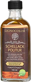 Schellack Politur Möbellack 100ml Transparent