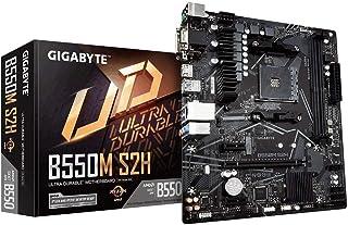 Gigabyte Technology B550M S2H mATX Mainboard Sockel AM4 M.2/HDMI/DVI/VGA/USB 3.2 (Gen1)
