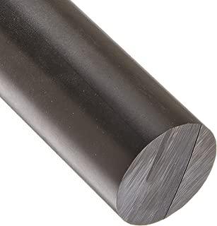 3 Length 1//4 Diameter 3/' Length Small Parts ZAM2966-B00FKNDWCA 1//4 Diameter Opaque Brown Meets ASTM D6100 Acetal Copolymer Round Rod