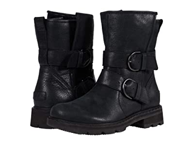 SOREL Lennox Moto Boot Cozy (Black) Women