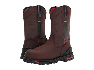Rocky RXT Comp Toe Non-Metallic 11 Pull-On Boot (Dark Brown) Men