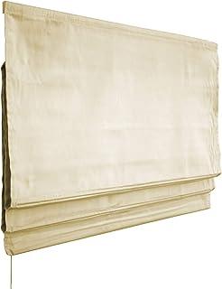 Victoria M. Estor Plegable, Cortina Plegable paqueto 80 x 175 cm, Color: Crema