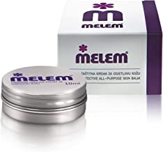 Melem Skin and Lip Balm 6 Mini Tins, Moisturizes and Soothes, with Lanolin and Beeswax, in Value Pack (each...