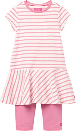 White/Pink Stripe