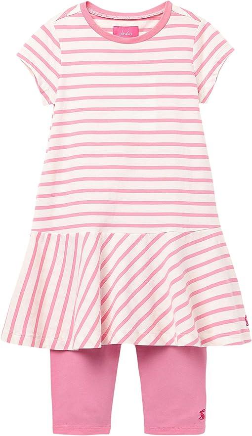 White/Pink Stripe