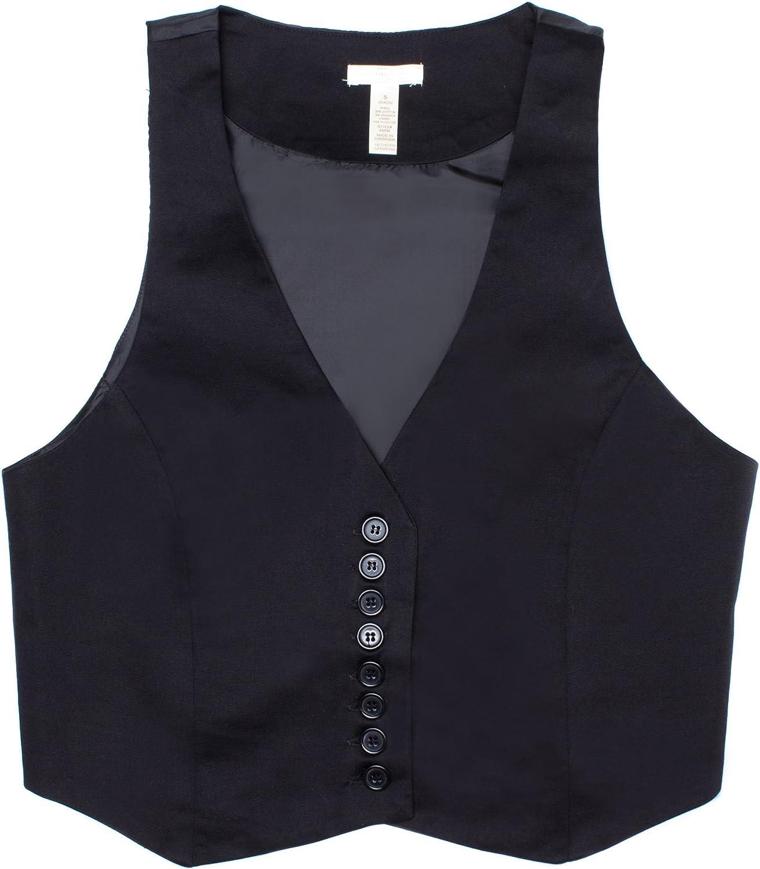 Superior Women's Button Up Top Vest Rare