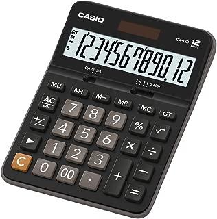 Casio DX-12B Value Series - Desk Top/Compact Desk Type Calculator, 0.18 kilograms