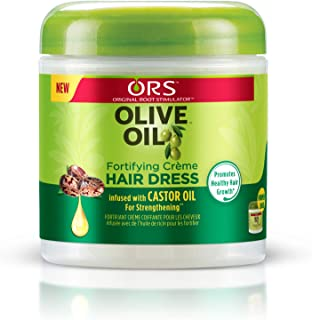 ORS Olive Oil Fortifying Creme Hair Dress 6 Ounce (Pack of 2)