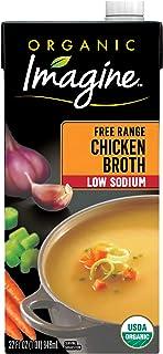 Imagine Organic Low Sodium Broth, Free-Range Chicken, 32 Oz