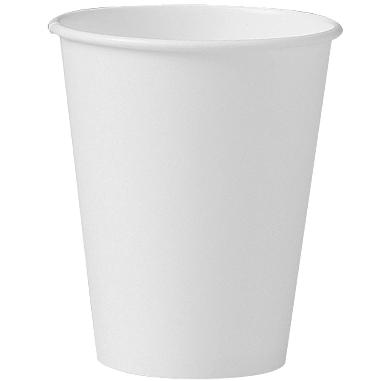 Solo 378W-2050 8 oz White SSP Paper Hot Cup (Case of 1000)