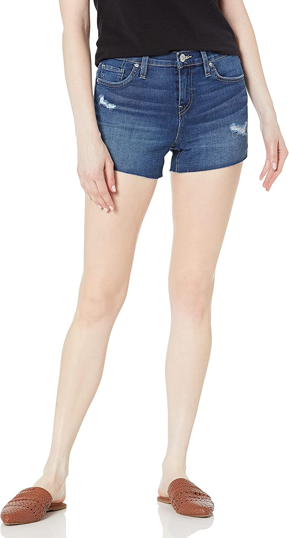HUDSON Women's Gemma Mid Rise Short Off Jean Max 71% OFF Seasonal Wrap Introduction Cut