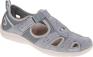 Earth Spirit Cleveland Womens Grey Flat Shoe