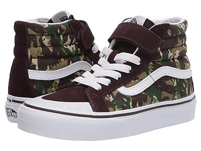 Vans Kids SK8-Hi Reissue 138 V (Little Kid) ((Animal Camo) Brown/True White) Boys Shoes