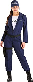Size Women's Tactical Cop Police Officer Costume