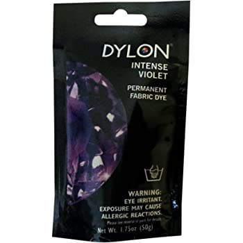 Dylon 87030 Permanent Fabric Dye, Intense Violet, 1.75-Ounce
