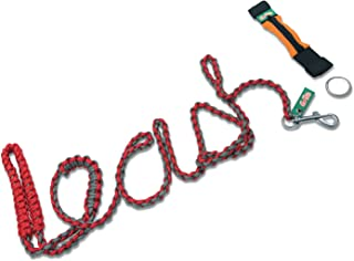 GoPets Dog Leash, 6 Foot Sturdy Nylon Paracord Rope, for Small Medium or Large Dogs Includes Free Bag and O-Ring for Pet Training Lead Collar