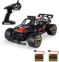 Theefun 1: 16 Electric RC Car Off Road Vehicle 2.4Ghz Radio Remote Control Car 2W 10Mph High Speed Racing Monster Truck 2 Rechargeable Battery