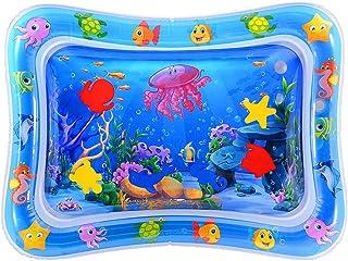 Cojín de Agua Inflable Bebé, Cojín Hinchable para Bebés, PVC Cojín de Agua Inflable para Bebé, Juquete de Actividades Dive...