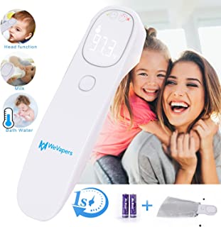 Forehead Thermometer, Baby Thermometer Non Contact Digital Medical Infrared Thermometer for Fever, Kid and Adult Thermometer, 4 Modes Digital Thermometer for Body Surface and Room