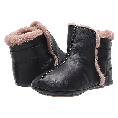 Old Soles Polar Boot (Infant/Toddler) (Black/Dusty Pink) Boy