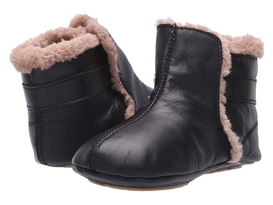 Old Soles Polar Boot (Infant/Toddler) (Black/Dusty Pink) Boy