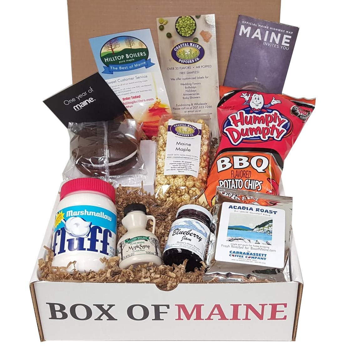 Box of Maine - SEAL limited product 7-item Gift Whoopie Coastal Nippon regular agency Ma Pie Pack Fluff