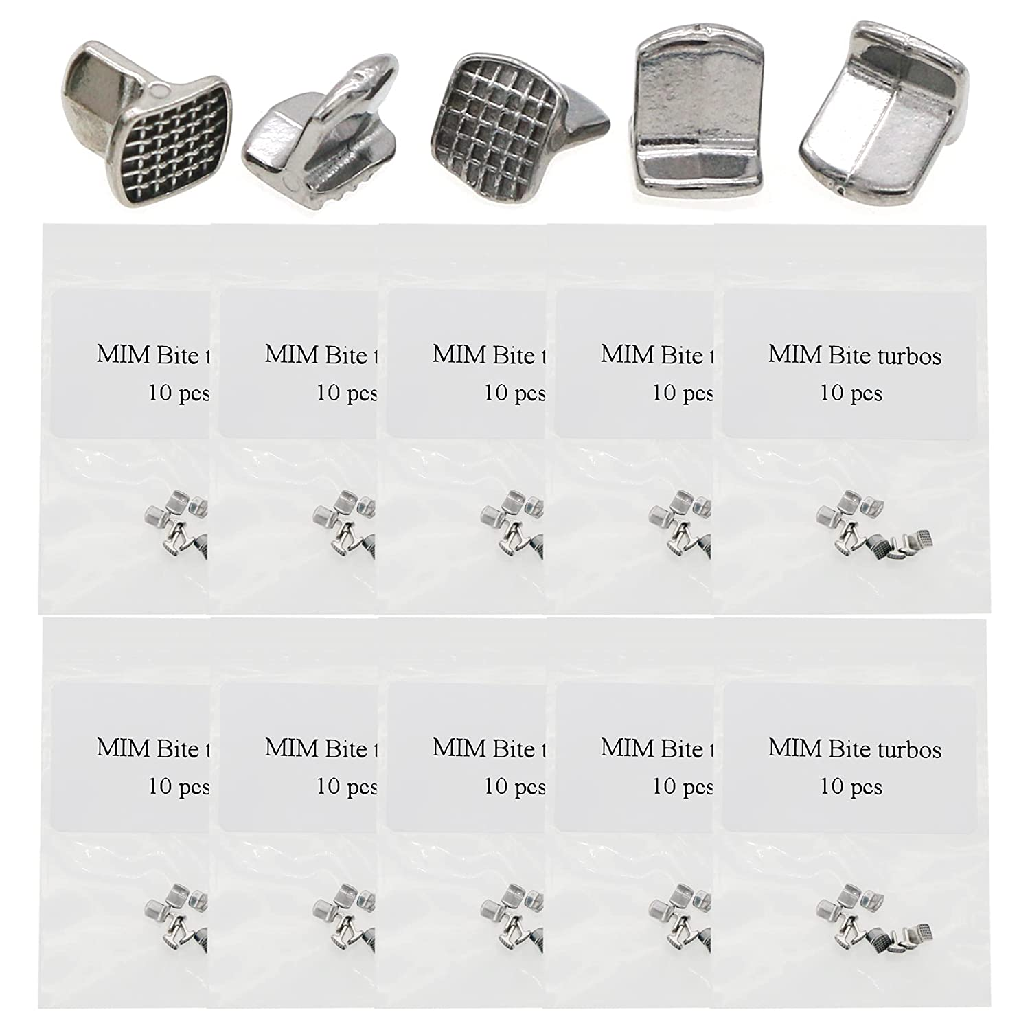free shipping 100 Pcs Ortho Accessories Lingual Bondable Fixed price for sale Button Tamers Tongue