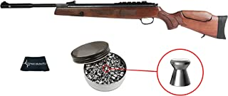 Wearable4u Hatsan Mod 135 Vortex QE (Quiet Energy) Air Rifle with Included Pack of Pellets Cloth Bundle