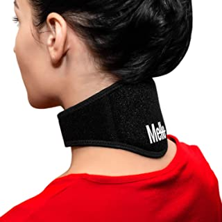 Mello Neck Pain Relief - Health Magnet Physical Therapy for Migraines Headache - Chronic Neck Stiffness Brace-Soft Cervical Support Collar - Comfortable Air, Car Travel